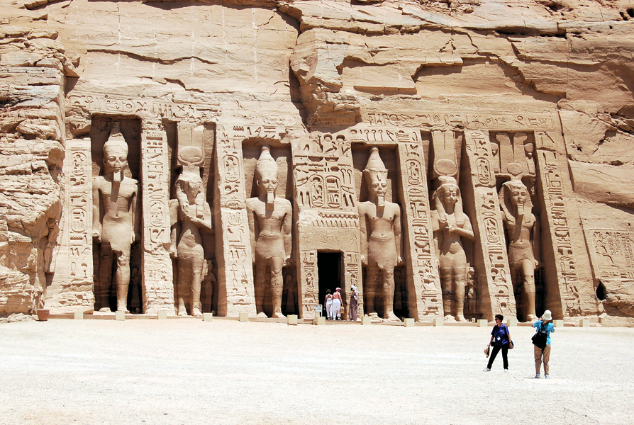 Nefertari Temple at Abu Simbel, Egypt