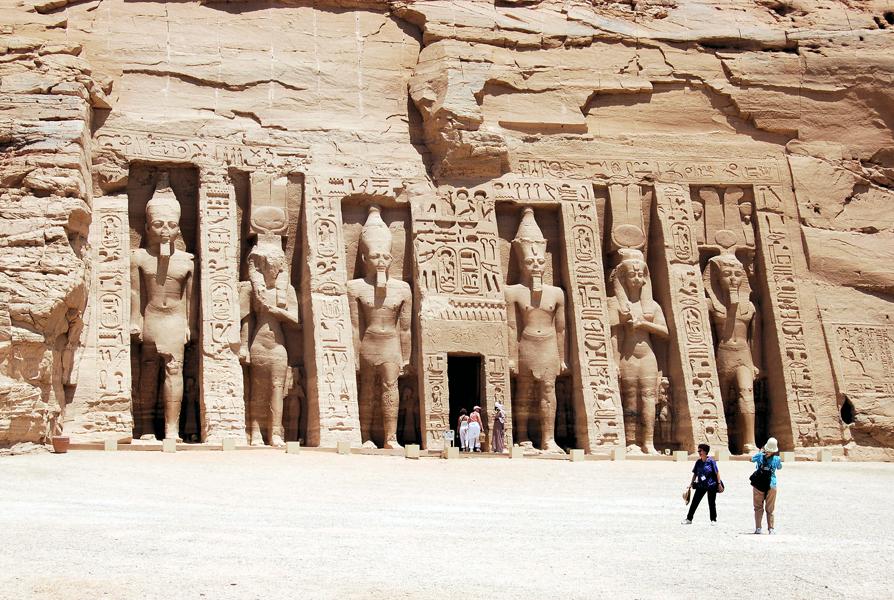 Nefertari Temple at Abu Simbel, Egypt