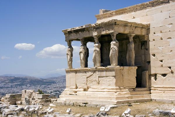 Erechtheum, Athens Acropolis, Greece