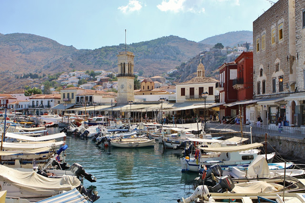 the island of Hydra
