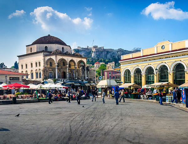 Monstiraki Square, Athens