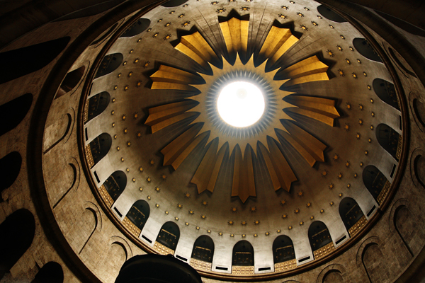 Holy Sepulchre Church, Jerusalem, photo by Noam Chen, courtesy of the Israel Ministry of Tourism