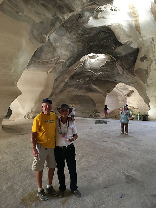 the Bell Caves in Beit Guvrin-Maresha National Park