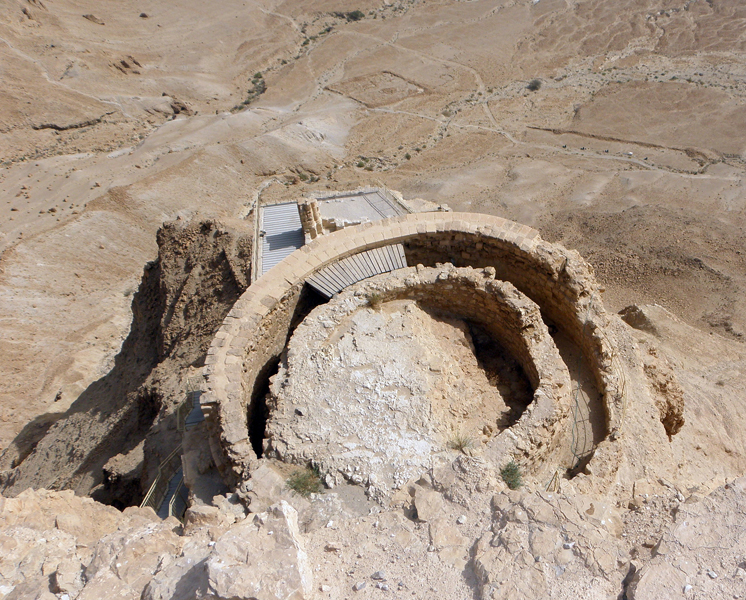 part of Herod's Northern Palace on Masada