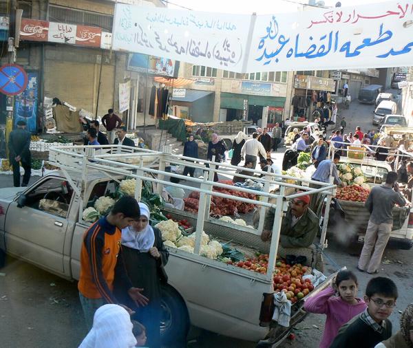 Madaba market