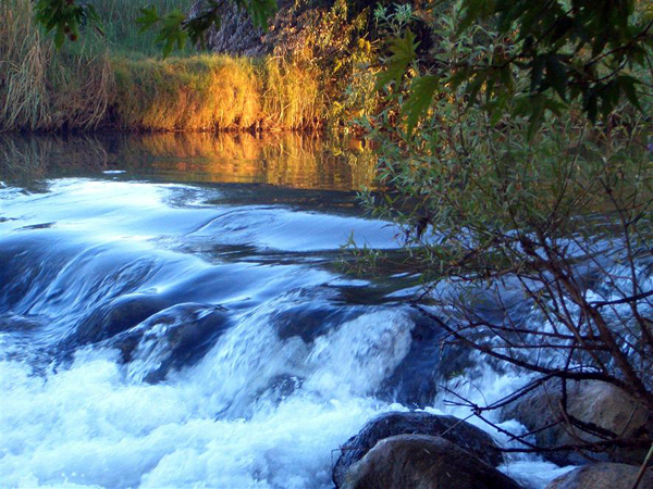the Jordan River, Israel - photo courtesy of the Israel Ministry of Tourism