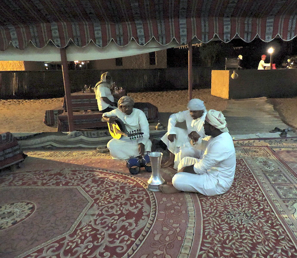 local entertainment in the Sharquiya Sands desert of Oman, photo by Sallie Volotzky