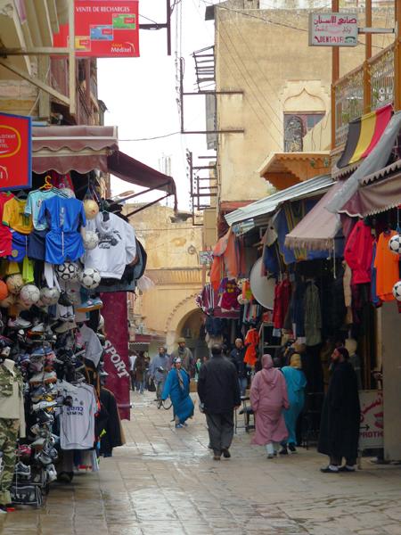 Fez Medina, Morocco, photo by Kathy Moroney
