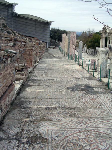 mosaic floor, Ephesus