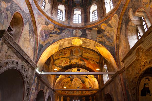 Chora Museum frescos