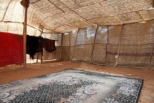 traditional tent at Heritage Village, Abu Dhabi