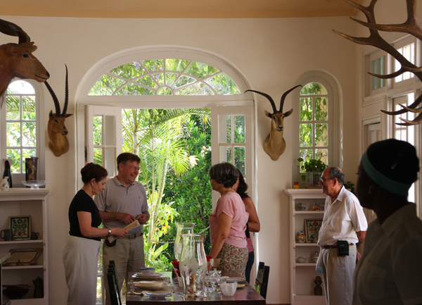 at Ernest Hemingway's house in Cuba, Finca Vigia