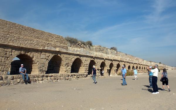 at Caesarea, Israel