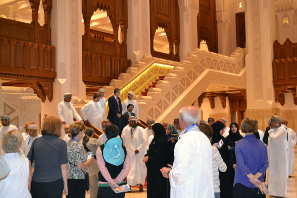 in the Royal Opera House of Muscat, Oman