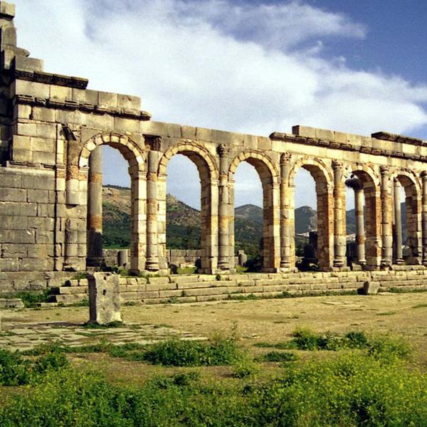 Volubilis Roman ruins, Morocco