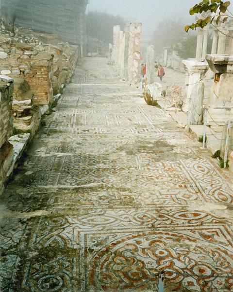 mosaic street, Ephesus