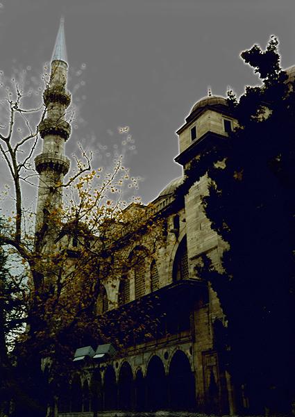 Sultanahmet (Blue) Mosque, Istanbul Turkey