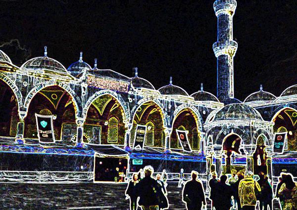 Sultanahmet (Blue) Mosque, Istanbul, Turkey