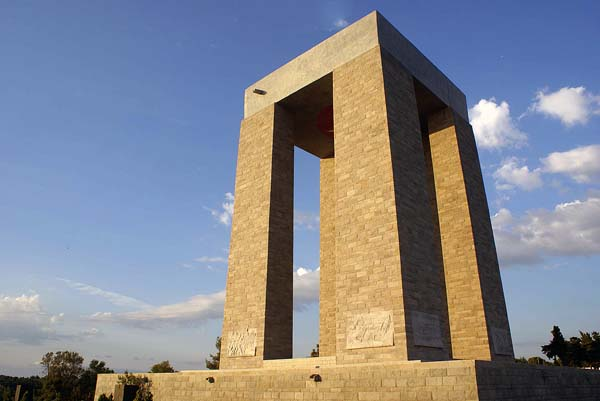Canakkale Martyrs Monument, Gallipoli
