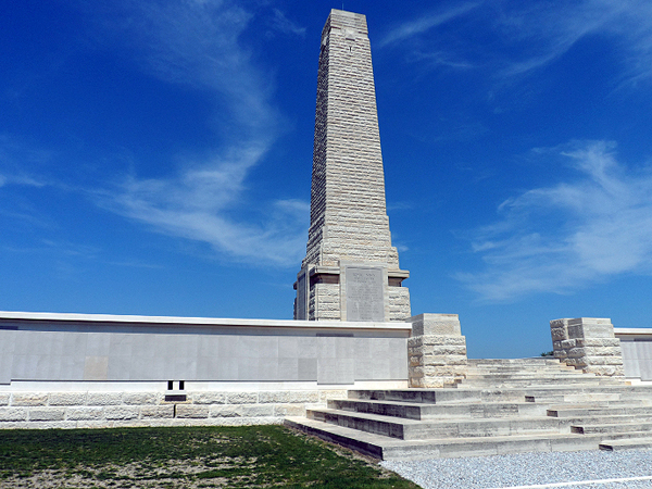 Cape Helles Memorial, where British and French forces landed on April 25, 1915