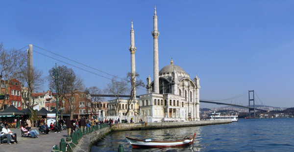 Kumpir with a view in Ortakoy