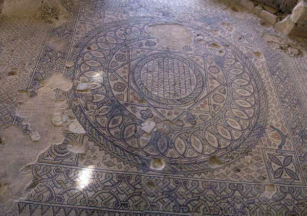 Church of the Virgin mosaic, Madaba Archaeological Park