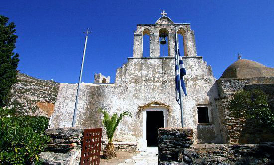 Panagia Drosiani, Naxos, Greece