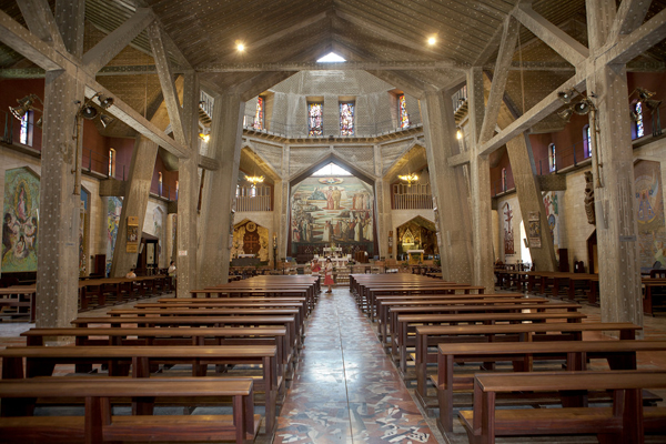 Church of the Annunciation, Nazareth, Israel, photo by Mordagan, courtesy of the Israel Ministry of Tourism