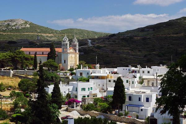 Lefkes, Paros Island, Greece