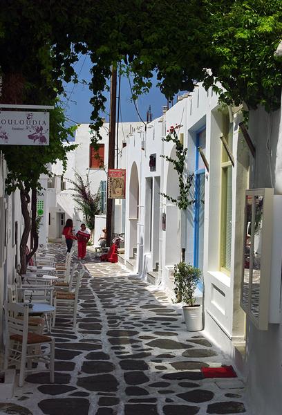 Naoussa, Paros Island, Greece