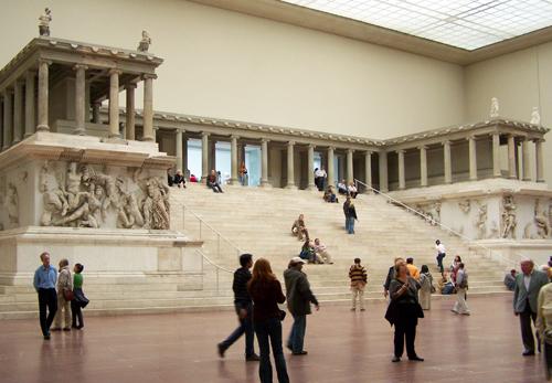 Pergamum's Alter of Zeus in Berlin