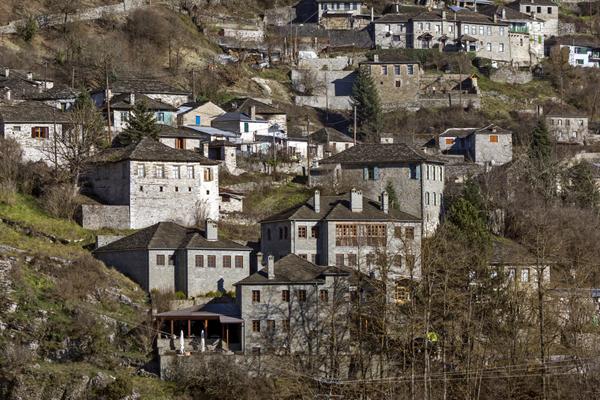 Kipoi village, Epirus, Greece