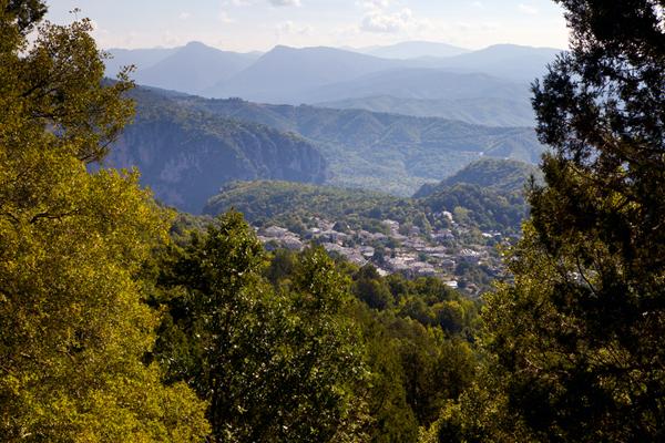 Monodendri village, Epirus, Greece