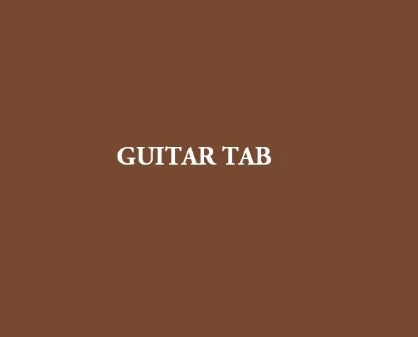 Tabs Godsmack Bulletproof Guitar Tab