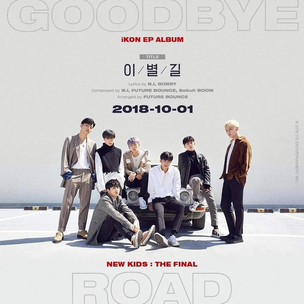CHORDS: iKON (아이콘) – Goodbye Road Piano & Ukulele Chord Progression and Tab