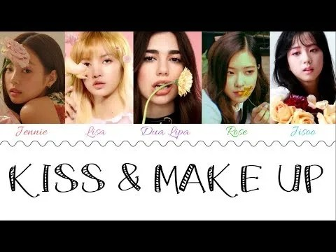 Chords Kiss And Make Up Dua Lipa Blackpink Piano Ukulele