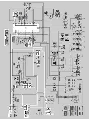 Yamaha YZFR125 Service Manual: Circuit diagram  Ignition system  Electrical system