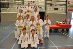 Poule 2; Tomas, Tim, Daniël, Jurre, Nick, Mika, Stijn, Finn, Jur en Luuk