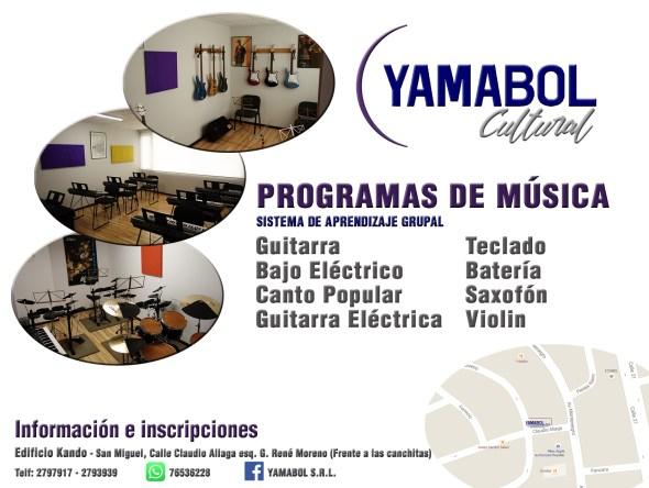 Flyer Yamabol Cultural