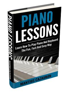 Piano keyboard layout - Piano keys