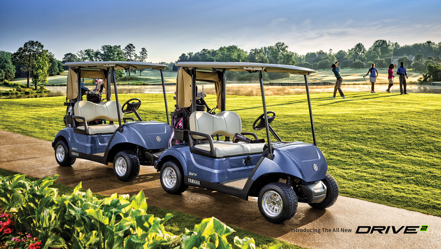 Golf Yamaha Tracks Carts