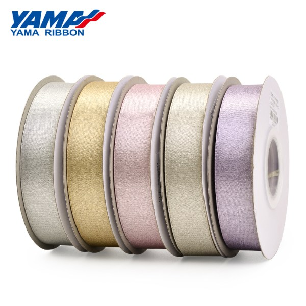 Silver purl ribbon