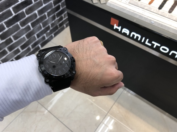 腕時計 ハミルトン Khaki BeLOWZERO 1000m H78585333