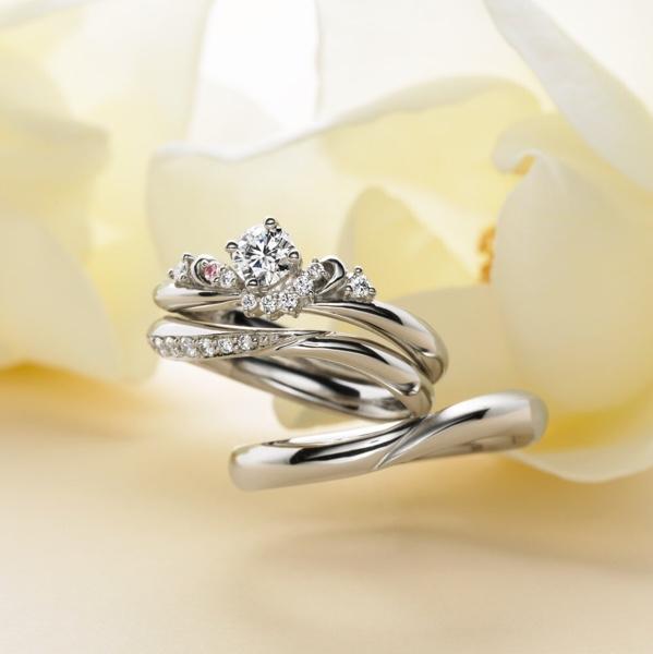ブライダルリング 婚約指輪 結婚指輪 エンゲージリン グマリッジリング Mariage マリアージュ Venus(ヴィーナス)
