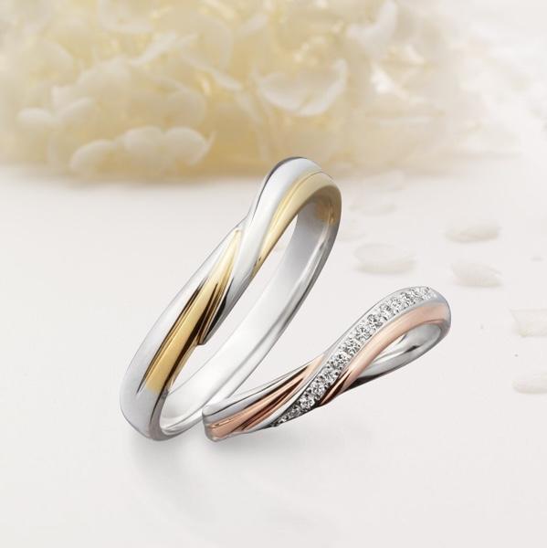 ブライダルリング 結婚指輪 マリッジリング Quand de Mariage クワンドゥマリアージュ La terre ラテール