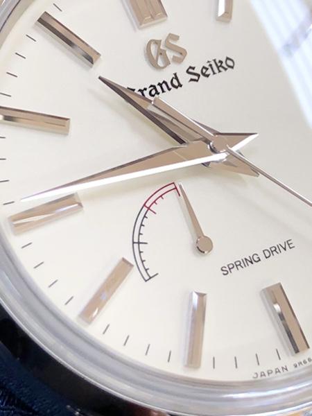 腕時計 グランドセイコー SBGA293 スプリングドライブの文字板側