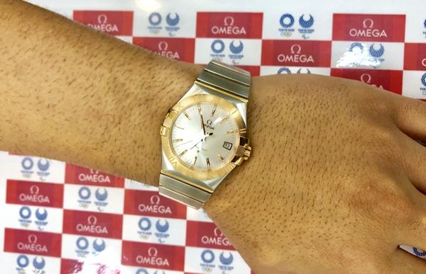 腕時計 オメガ コンステレーション