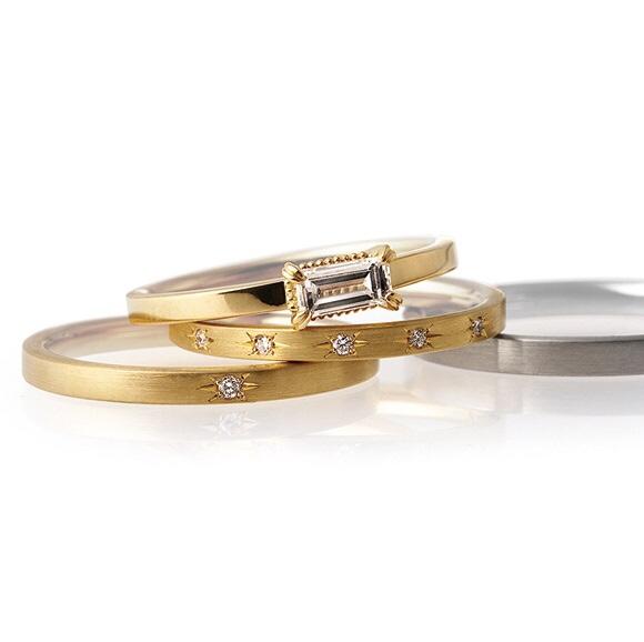 ブライダルリング 婚約指輪 結婚指輪 エンゲージリング マリッジリング ローズクラシック パレ 薔薇をモチーフ