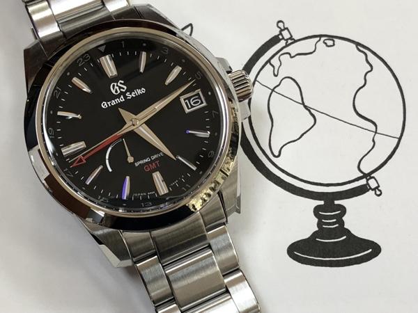 腕時計  SBGE213   スプリングドライブ GMT