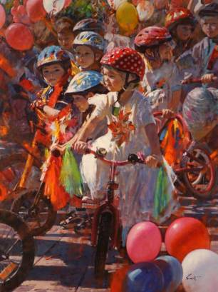 People's Choice Award 2014: 'Young Riders' by Clement Kwan